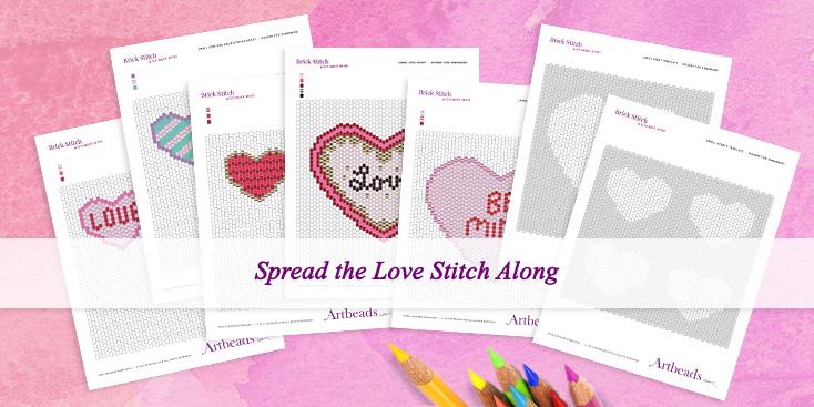 Spread the Love Stitch Along Blog