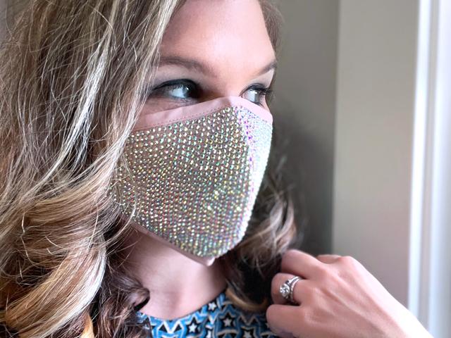 Bling Fashion Face Mask