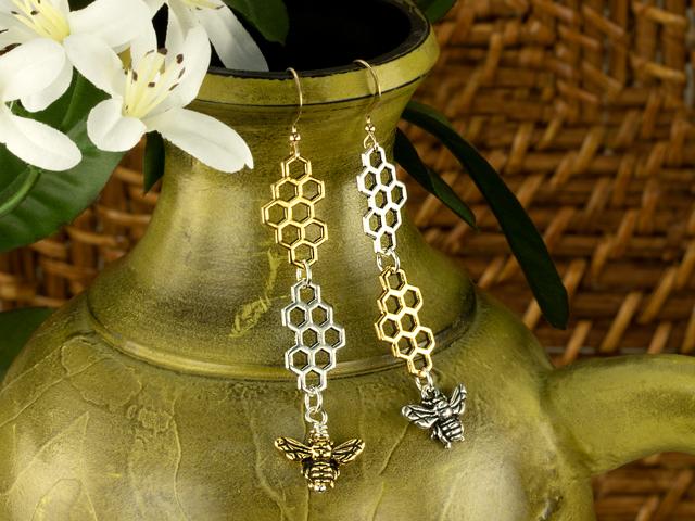 Bees A'Buzzing Earrings