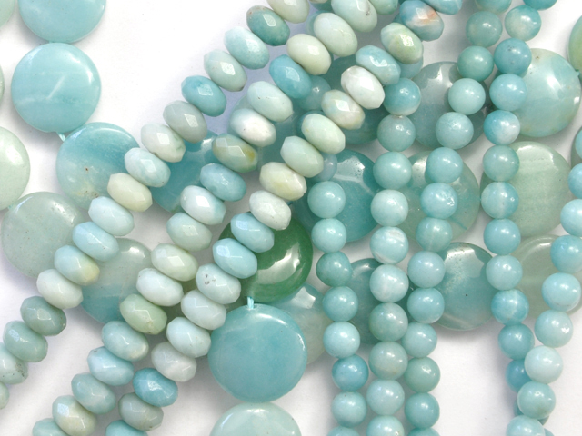 Image of amazonite gemstones