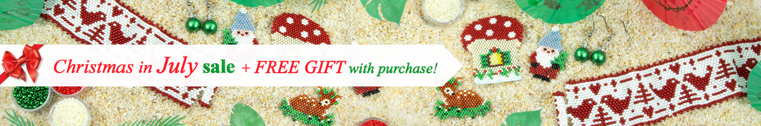 Artbeads Christmas in July Sale