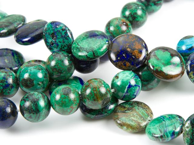 Image of azurite gemstones