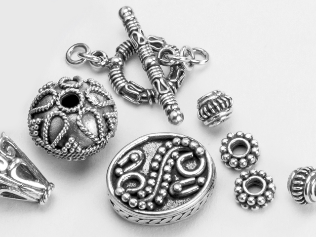 Image of Bali Silver findings