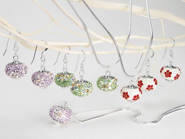 Swarovski BeCharmed Finished Jewelry Pieces