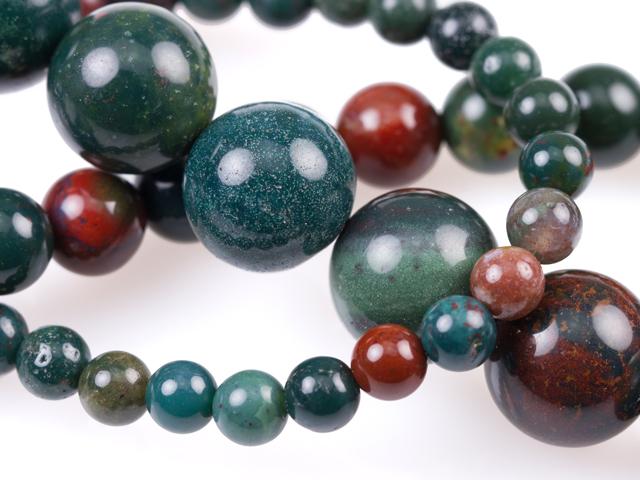 Image of bloodstone gemstones