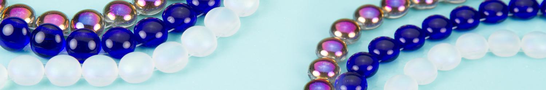 """Czech Glass """"Candy"""" Beads"""