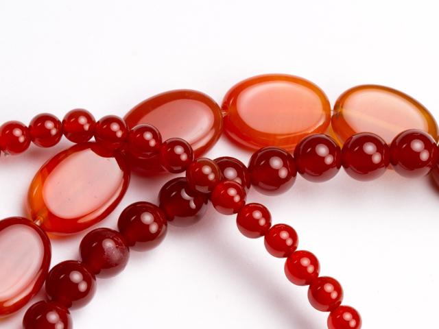 Image of carnelian gemstones