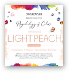 Swarovski Psychology of Colors - Light Peach