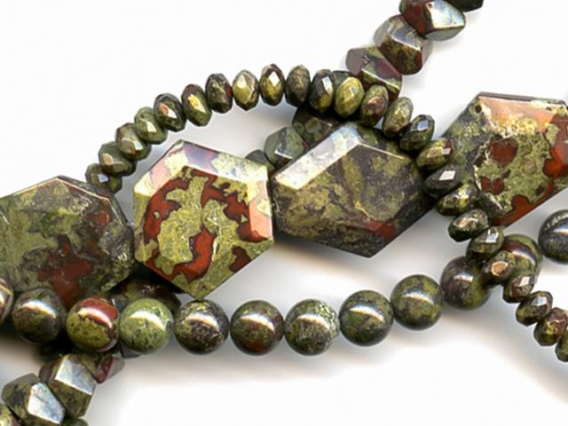 Image of dragon blood jasper gemstones