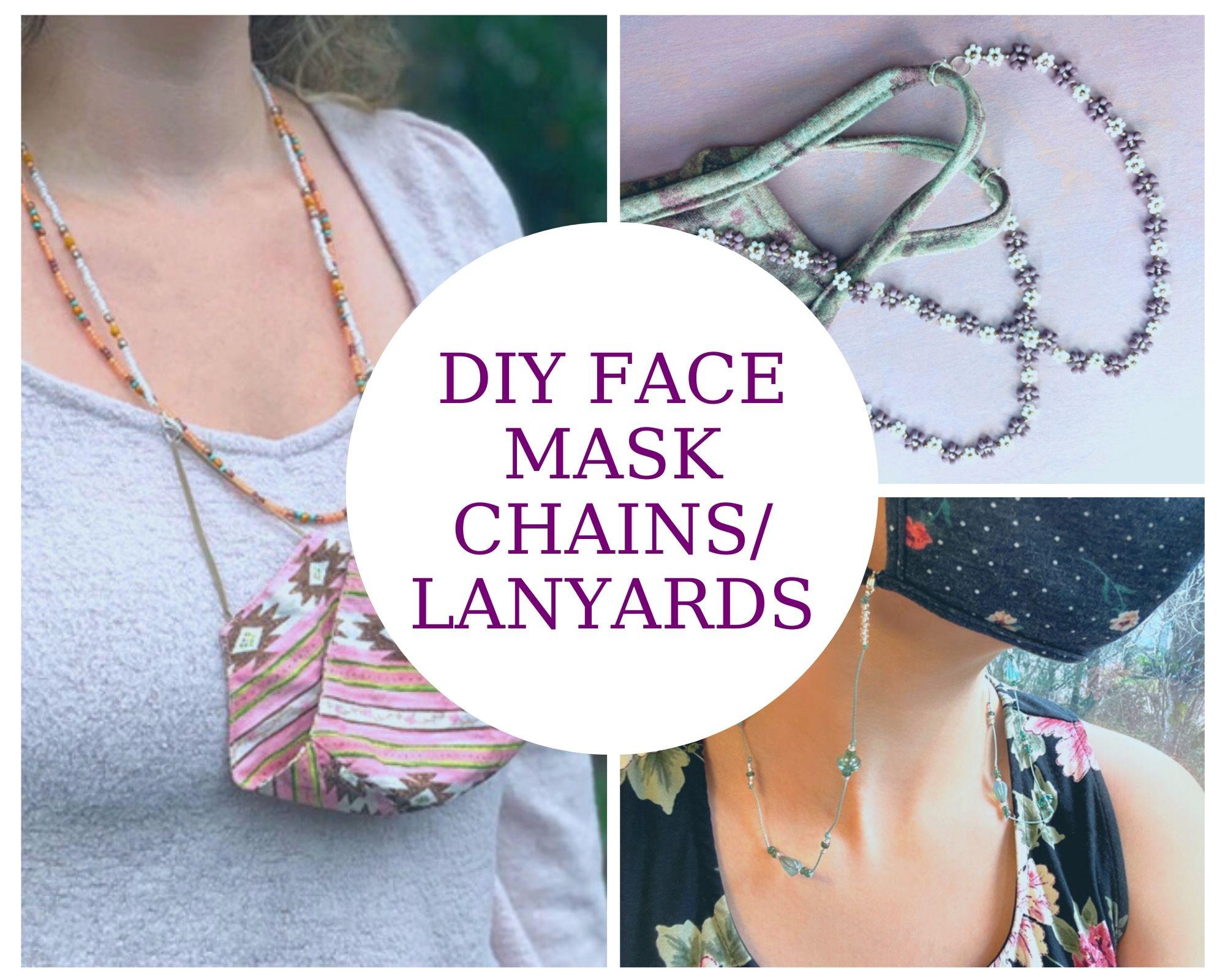 DIY Face Mask Chains/Lanyards