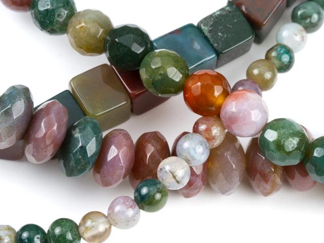 Image of fancy jasper gemstones