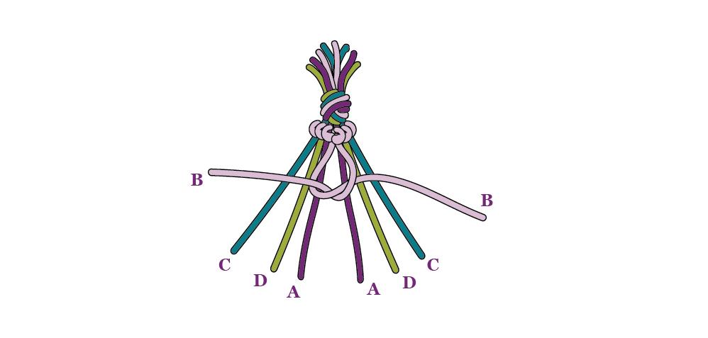 Herringbone Weave Step 5