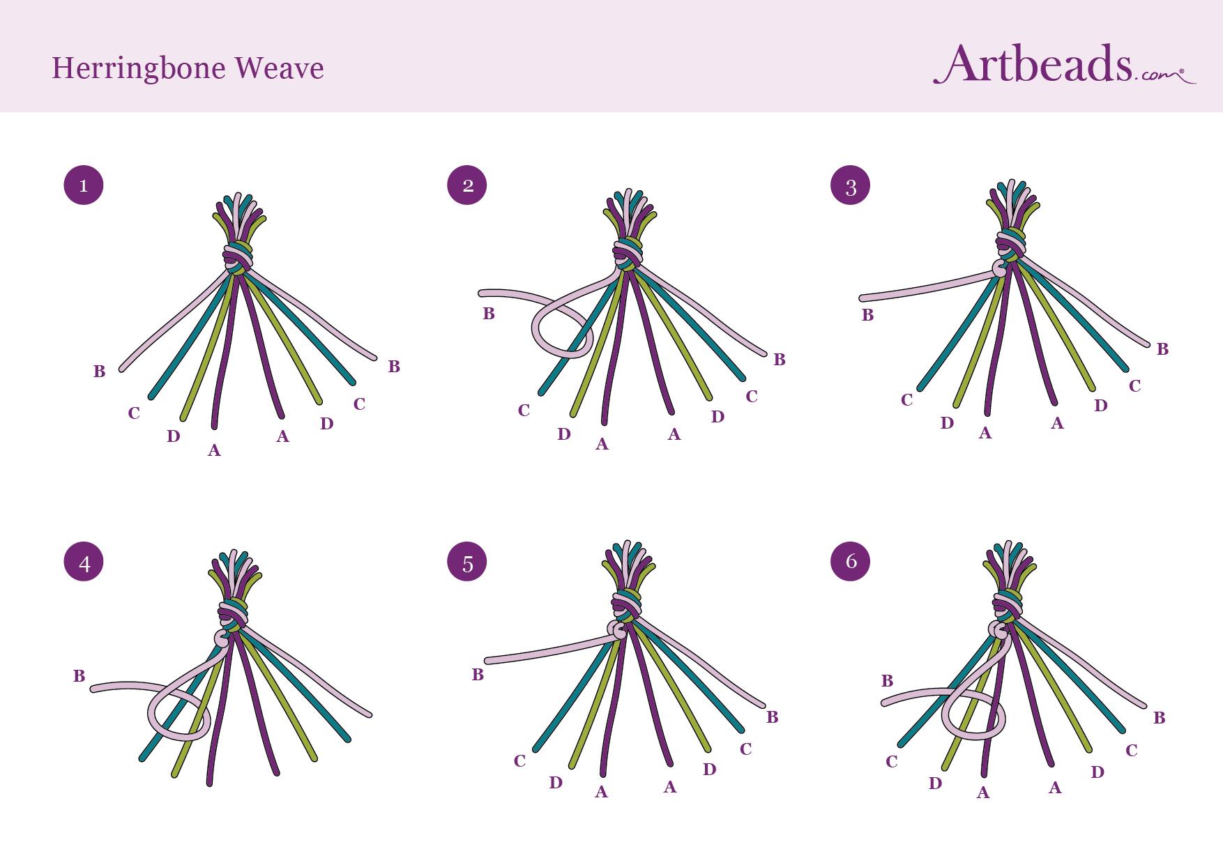 Herringbone Weave Diagram Full
