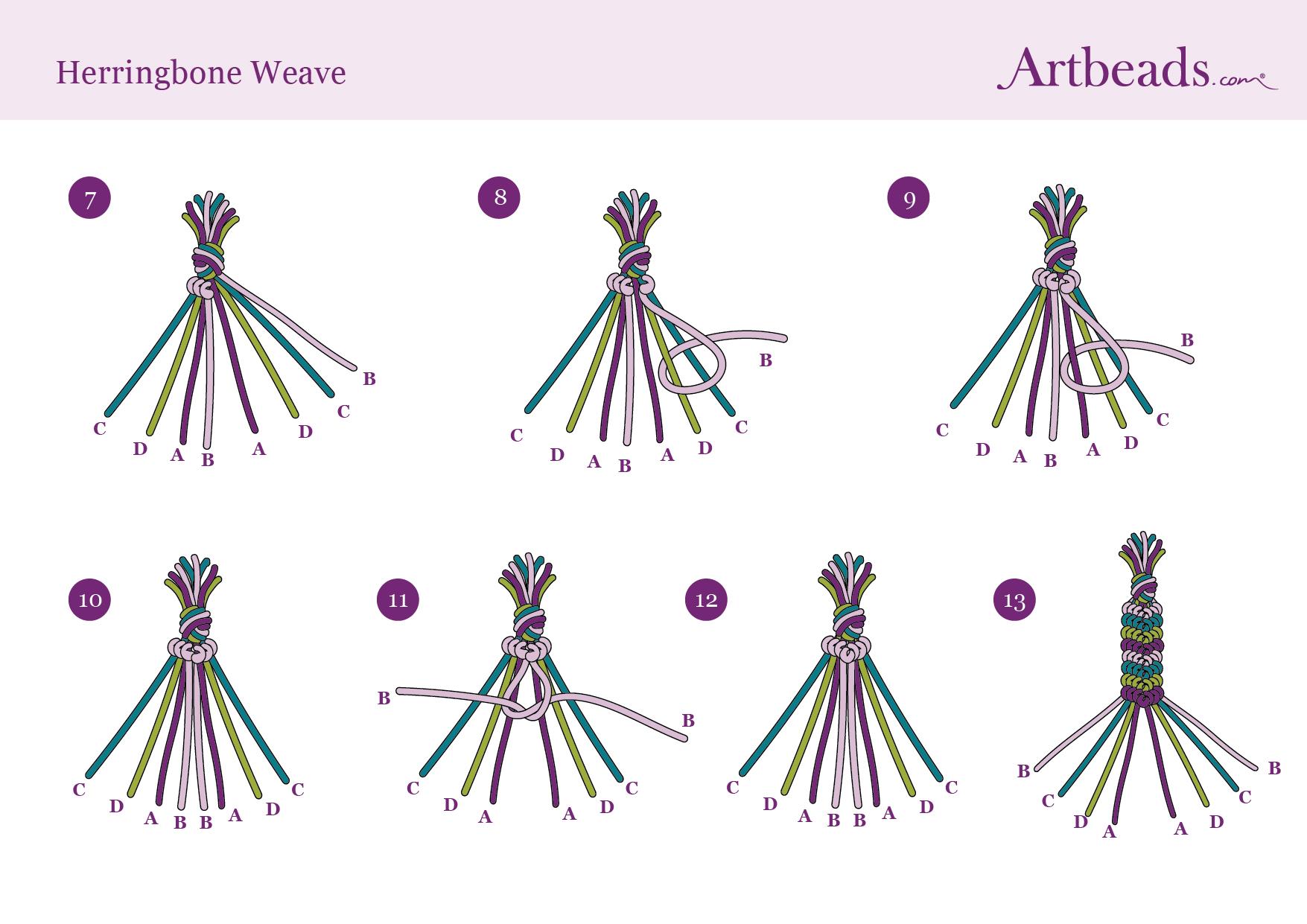 Herringbone Weave Diagram Full 2
