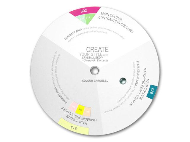 Image of the Swarovski color wheel