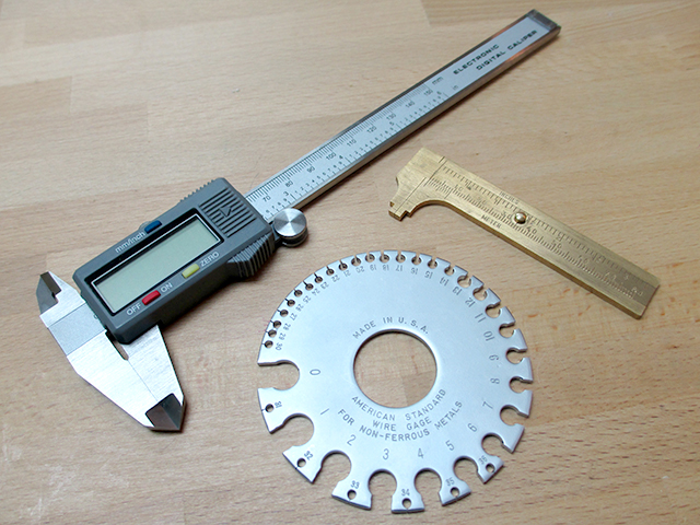 Jump Ring Measuring Tools