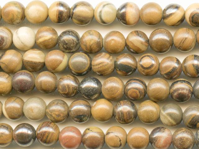 Image of iron zebra jasper gemstones