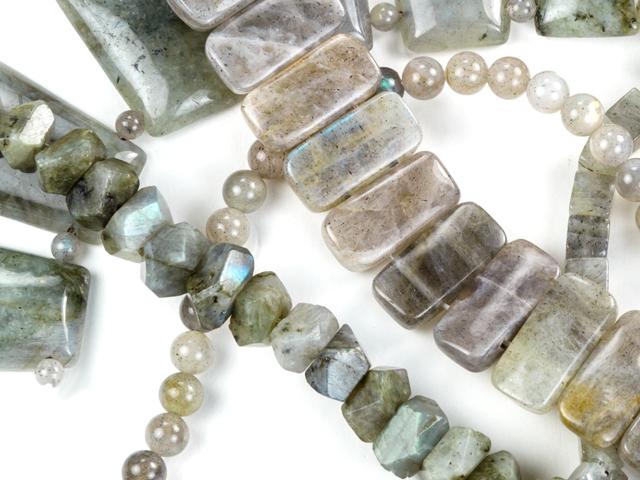 Image of labradorite gemstones