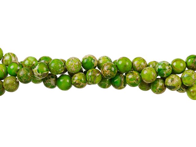 Image of lime green impression jasper gemstones