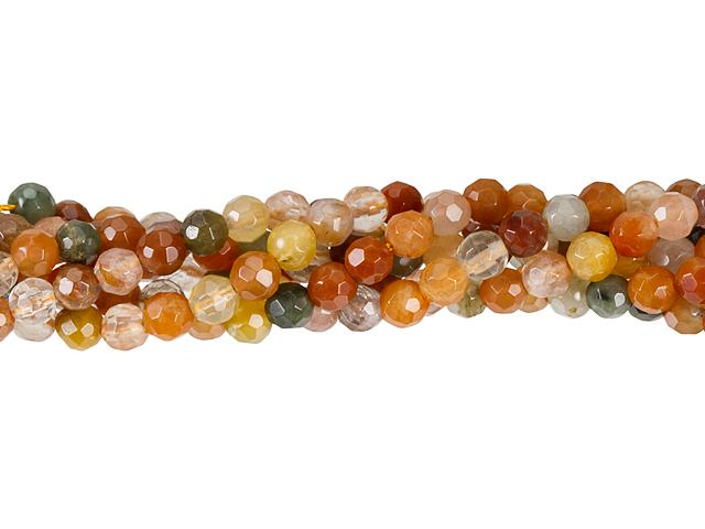 Image of mixed rhutilated quartz gemstones