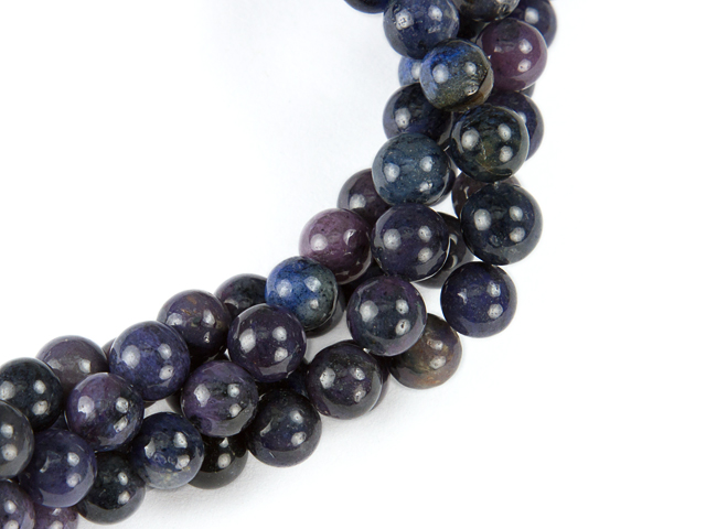 Image of purple dumortierite gemstones