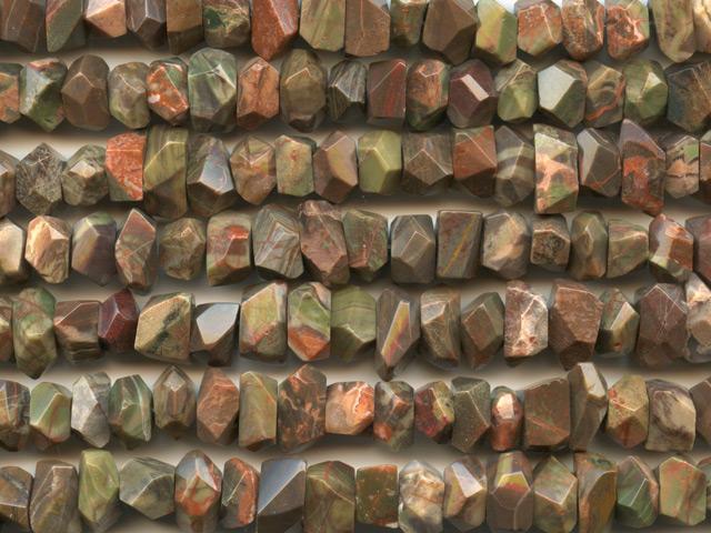 Image of rainforest agate gemstones