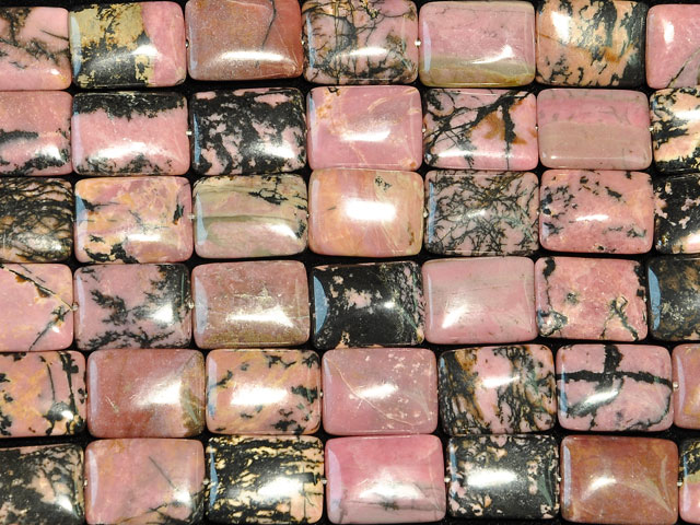 Image of rhodonite gemstones