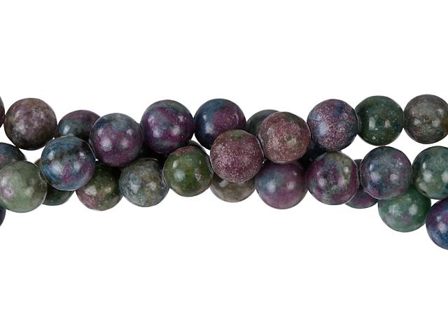 Image of ruby apatite gemstones