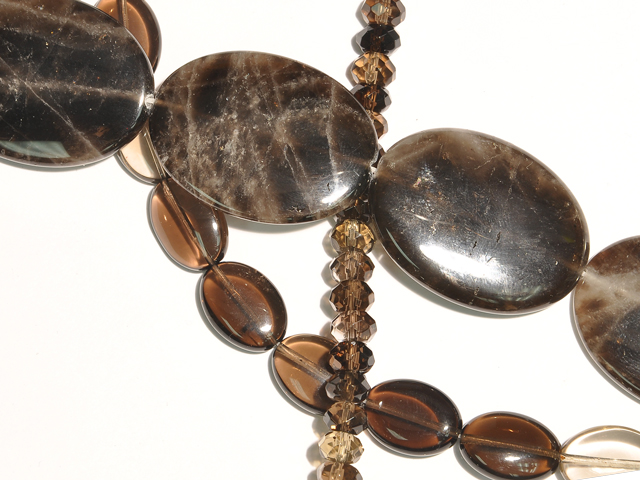 Image of smoky quartz gemstones