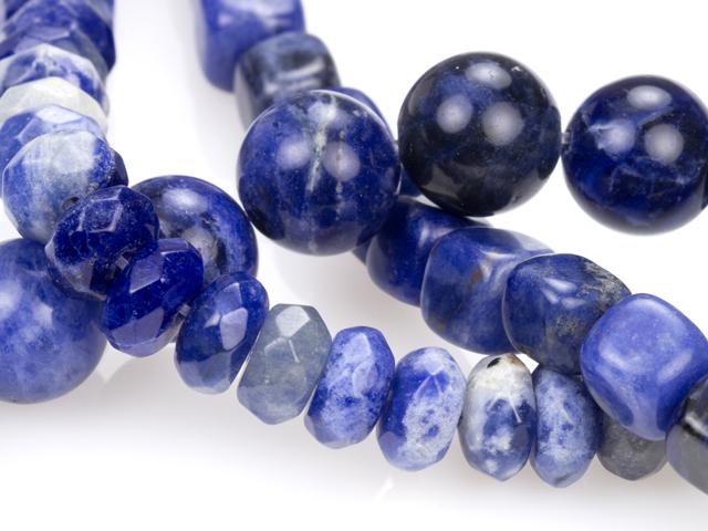 Image of sodalite gemstones