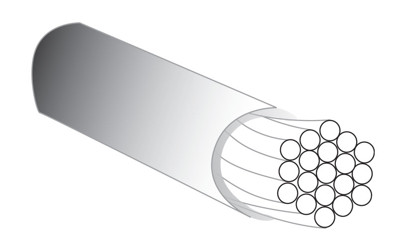 Image showing 19 strand wire