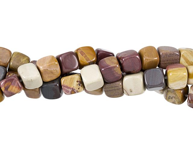 Image of sunset mookaite gemstones