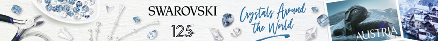 Swarovski crystals around the world