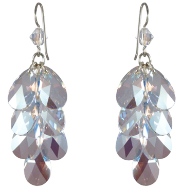 Shimmering Drops Earrings