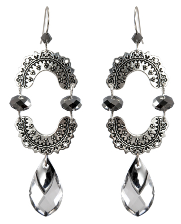 Silver Nights in Marrakesh Earrings