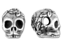 Skull Bead with Side-to-Side Hole