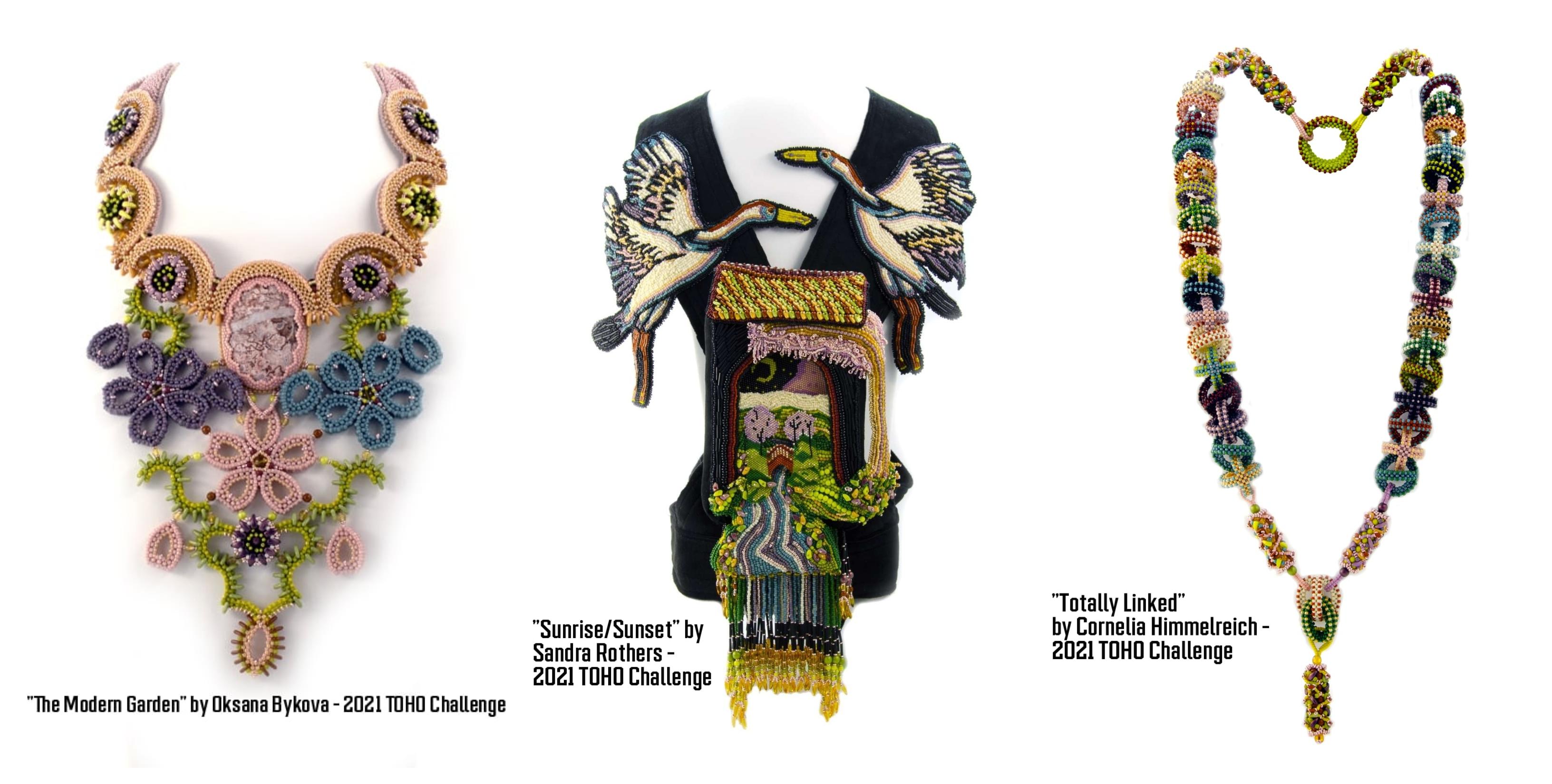 2021 TOHO Challenge Jewelry Designs