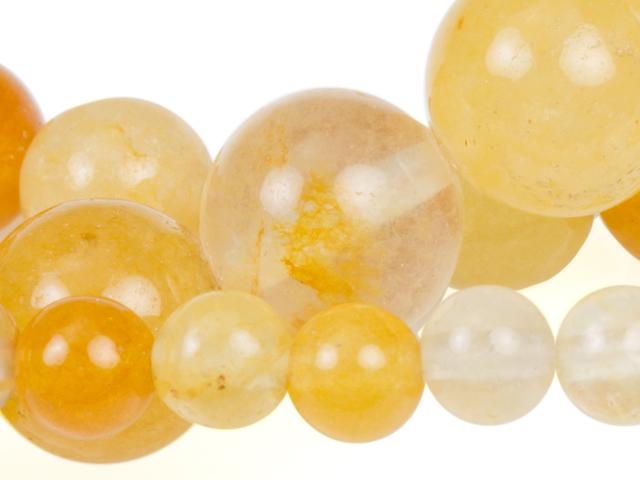 Image of yellow jade gemstones
