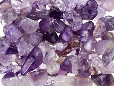 Amethyst Loose Gemstone Chip Beads 100g Bag
