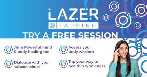 Lazer Tapping - Self-Healing at your Fingertips!