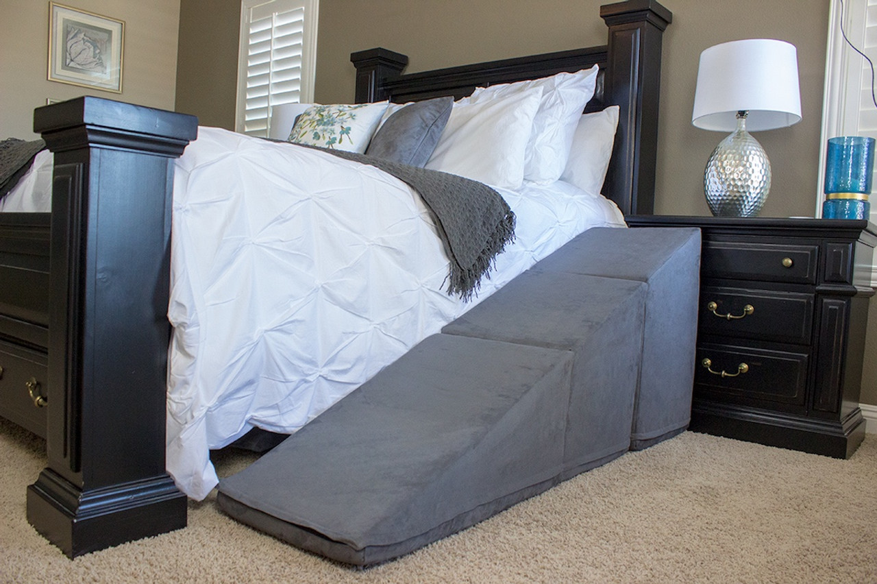 Dog Ramp For Bed >> Extra Tall Dog Ramp For Beds 28 Tall Puppy Stairs