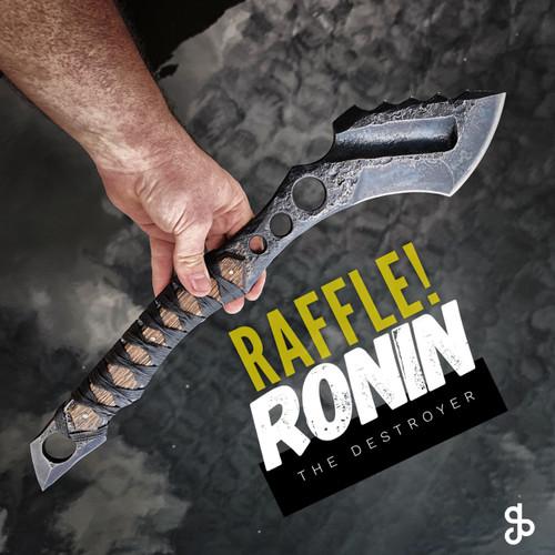 RAFFLE! Ronin  the destroyer