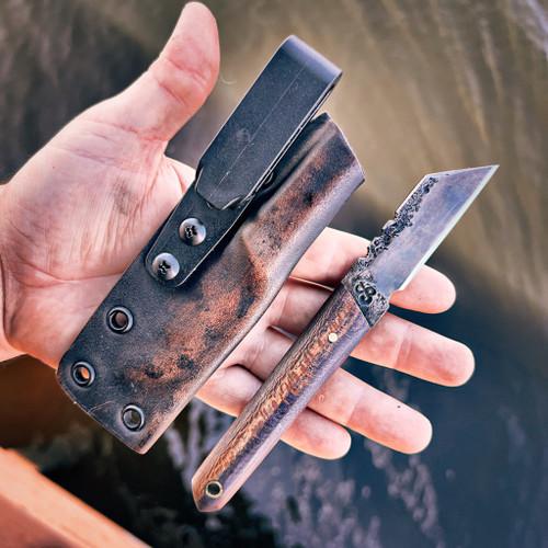 Shop Knife - stabilized wood
