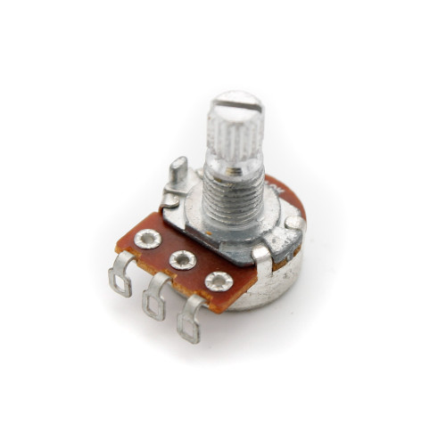 16mm Potentiometer - Knurled Shaft - Solder Lug