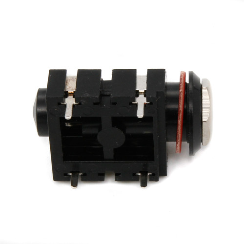 """1/4"""" TS Enclosed Switched Jack - PCB Mount"""
