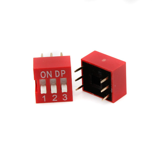 DIP Switch - 3 Position