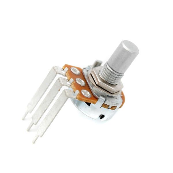 16mm Potentiometer - Smooth Shaft - Tall PCB Leg