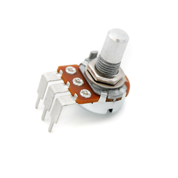 16mm Potentiometer - Smooth Shaft -  Short PCB Leg