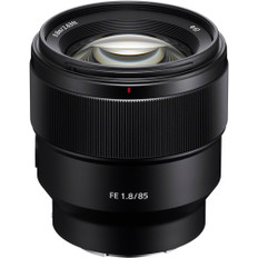 Sony FE 85mm f/1.8 Lens with UV Filter Kit