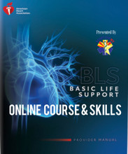 BLS Provider online course and skills session